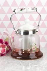 Чайник заварочный Чайник заварочный с металлическим фильтром v=1200мл.