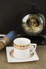 Кофейный набор 12 предметов Восход солнца