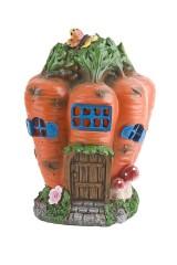 Фигурка садовая Морковный домик