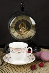Кофейный набор 12  12 предметов Мозаика