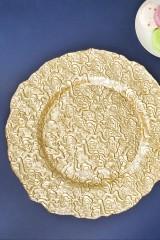 Блюдо сервировочное Золото