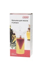 Бутылка для масла и уксуса Бутылка для масла и уксуса v=250мл. (14,5*6*18,5см.) (стекло)