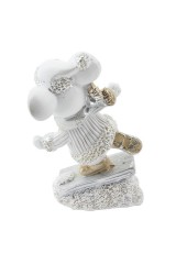 Фигурка декоративная Мышонок на льду