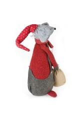 Фигурка-стоппер декоративная Крыс Борис