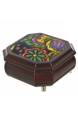 Шкатулка для ювелирных украшений Цветочная поляна
