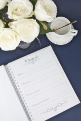 Свадебная книга для записи пожеланий Романтика