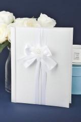 Свадебная книга для записи пожеланий Белый танец