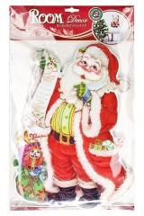 Панно новогоднее музыкальное 3D Санта
