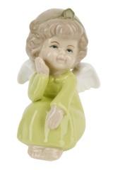 Фигурка декоративная Мечтающий ангел