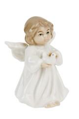Фигурка декоративная Ангел с голубем