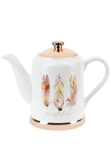 Чайник Перья