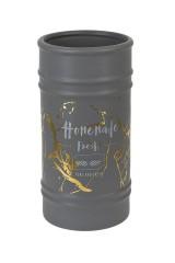 Ваза декоративная Серый мрамор