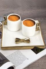Набор 2 чашки и блюдо Бант
