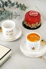 Кофейный набор 4 предмета Love kiss