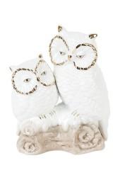 Фигурка декоративная Две совы