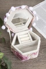 Шкатулка декоративная для ювелирных украшений Лиловое настроение