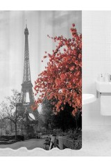 Занавеска для душа Париж