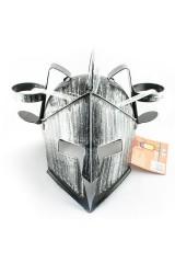 Каска с подставками под банки Рыцарь