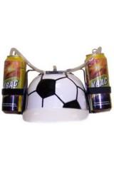 Каска с подставками под банки Футбол