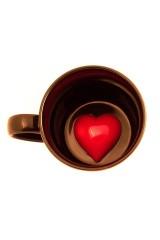 Кружка Сердце на дне