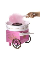 Машина для приготовления Сахарной ваты Тележка