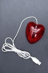 Компьютерная мышь Сердце