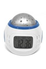 Часы - ночник проектор звездного неба Млечный путь