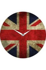 Часы настенные Английский флаг