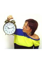 Часы Будильник с подсветкой Гигант