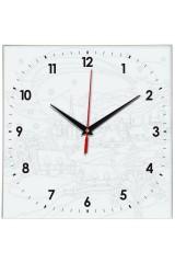 Часы раскраска Город