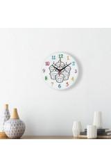 Часы раскраска Кексы