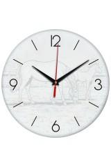 Часы раскраска Лошади