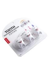 Держатель для зубной щетки семейный Зубки