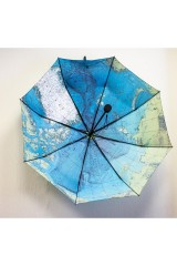 Зонт складной Карта мира