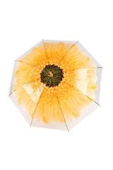 Зонт купол Цветок желтый