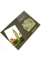Обложка на паспорт Британия