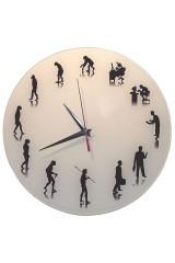 Часы настенные Эволюция