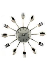 Часы настенные Вилки-ложки