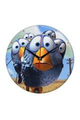 Часы настенные Птички