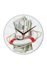 Часы настенные Спасательный доллар