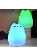 Светильник USB Кот