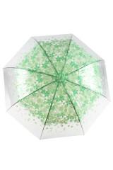 Зонт Цветы зеленые