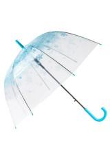 Зонт Цветы голубые