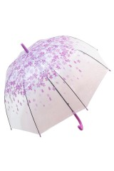 Зонт Цветы фиолетовые