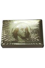 Карты игральные Доллар золотой