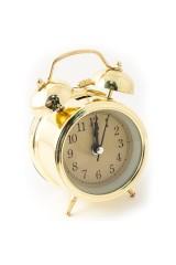 Часы будильник Золото