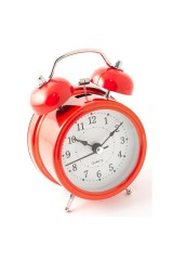 Часы будильник Красные