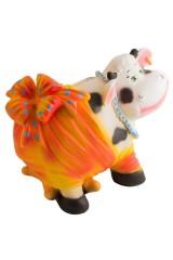 Копилка Корова с бантом
