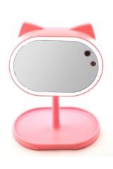 Зеркало с подсветкой Котик