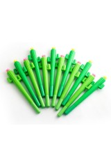 Ручка гелевая Кактус
